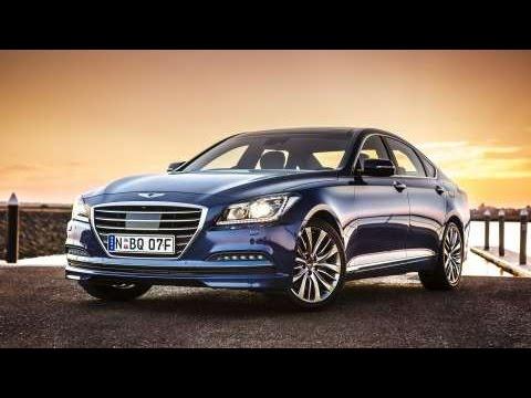 NRMA Hyundai Genesis video car review