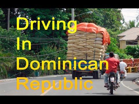 Driving Rural Dominican Republic Cabarete to Sosus to Monte Cristi in a Rental Car