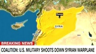 BREAKING! U.S. SHOOTS DOWN SYRIAN MILITARY PLANE!