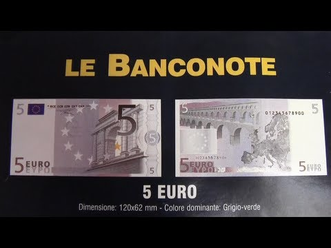 Passionate Italian Lesson 36 - 100 words - 8: banknotes