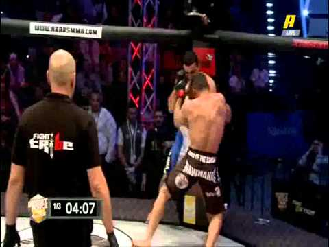 Mohammad Ghorabi Dessert Force Champion (77kg - Complete Fight Video)