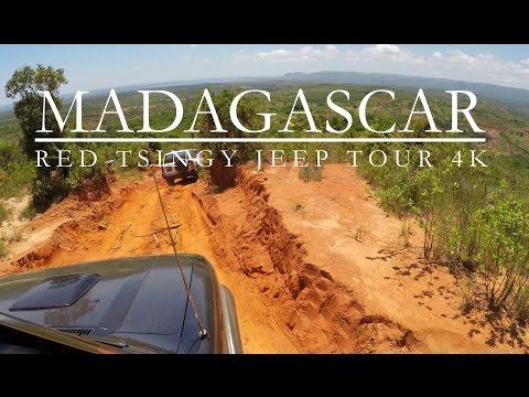 MADAGASCAR 4K | Diego Suarez | red tsingy JEEP TOUR | GOPRO Feiyu gimbal