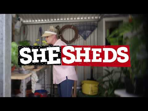 What's In Your Shed - SHESHEDS | Stratco Shed Quarters
