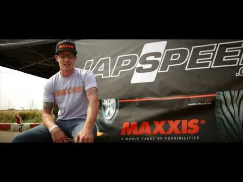 Maxxis Star Ryan Tuerck Talks Drifting with Tyres & Accessories