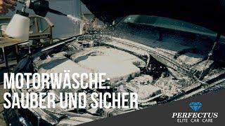 Motorwäsche durchführen - sauber und sicher