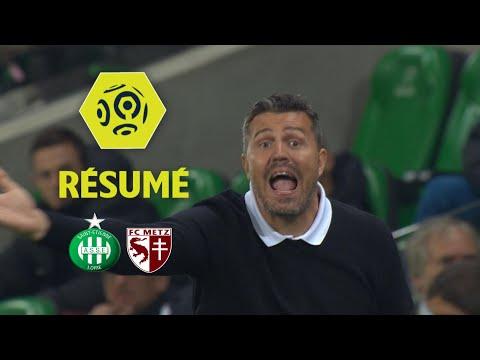 AS Saint-Etienne - FC Metz (3-1)  - Résumé - (ASSE - FCM) / 2017-18
