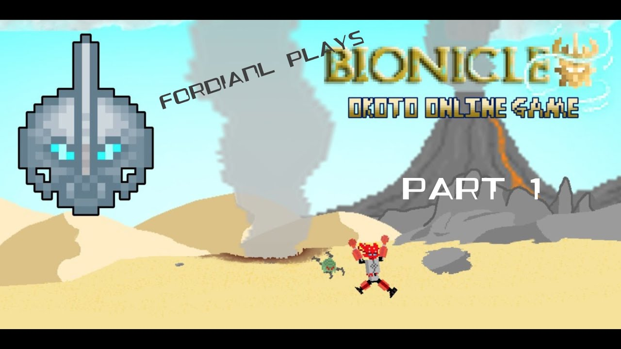 fordianl plays bionicle okoto online game part 1 youtube