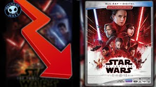 Fans aren't buying THE LAST JEDI on home video