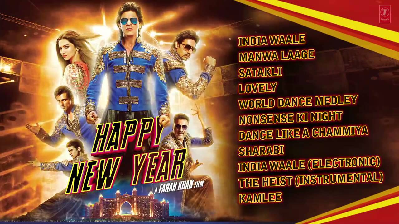 happy new year full audio songs jukebox shah rukh khan deepika padukone youtube
