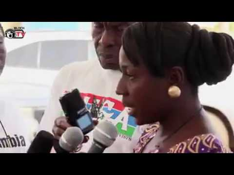 The interview of fatoumata jawara and other victims of dictator yahya jammeh.