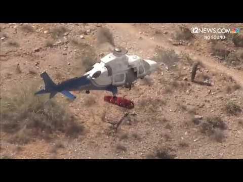 James Burlander - 74-Year-Old Hiker Gets Airlifted... and Turned Into A Fidget Spinner!