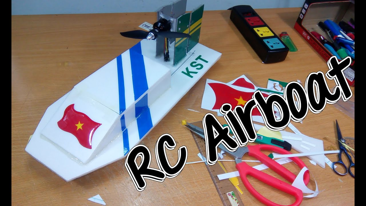 How to build airboat rc with brushless motor youtube for How to build an airboat motor