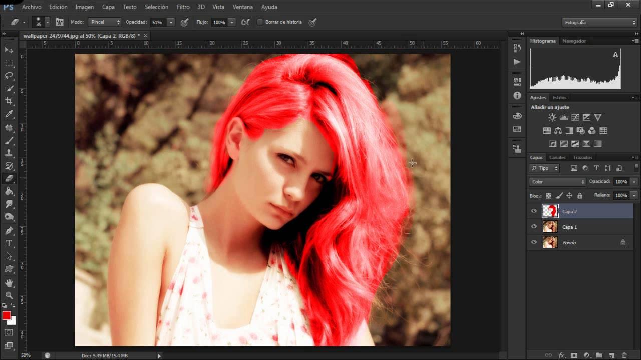 Photoshop CS5, Recortar bien el pelo para fotomontaje ...