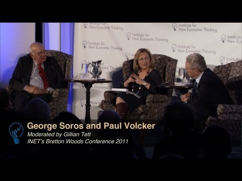 A conversation between Paul Volcker and George Soros