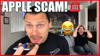 Calling Apple Scammers Trying to Get HIRED - Until They RAGE Quit LOL - Trilogy Media #scambaiting