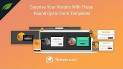 Surprise Your Audience With These New Opt-in Form Templates