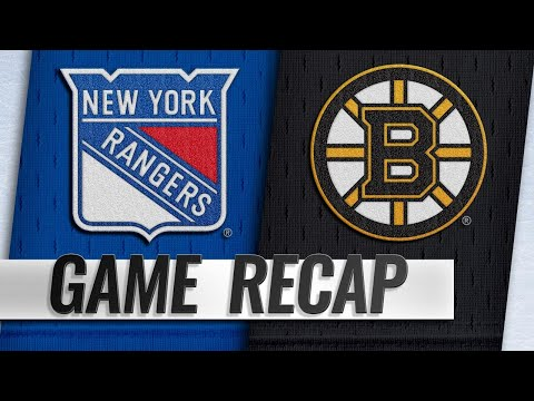 Lundqvist eclipses Sawchuk as Rangers edge Bruins