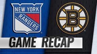 Lundqvist eclipses Sawchuk as Rangers edge Bruins