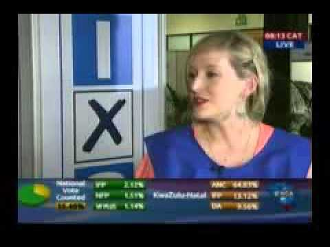 ENCA News - 08 May 2014 - South African National Elections