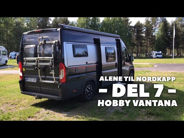 Alene til Nordkapp - del 7 - Hobby Vantana K65 Es