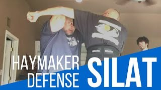 Silat - How to Stop a Haymaker Punch! Top Four Defenses