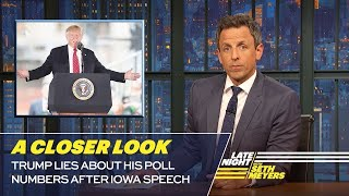 Download Trump Lies About His Poll Numbers After Iowa Speech: A Closer Look Mp3 and Videos