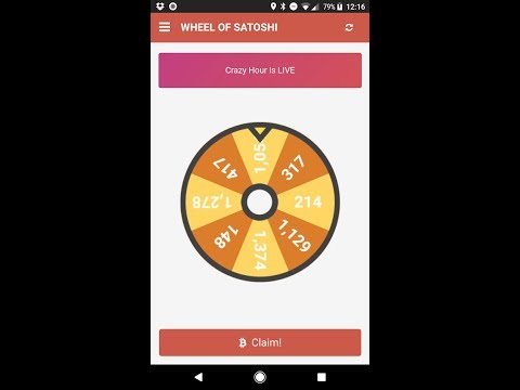 Earn BTC With Wheel Of Satoshi