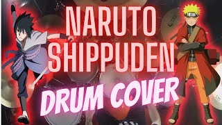 Naruto Shippuden Opening 6 - Flow - Sign - Drum Cover by Pablo Estrada