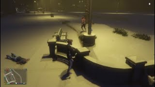Grand Theft Auto V (PlayStation 4) - Random Gameplay