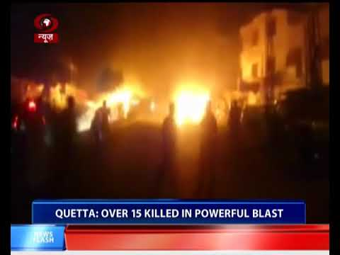 Pakistan: Powerful blast kills over 15 in Quetta