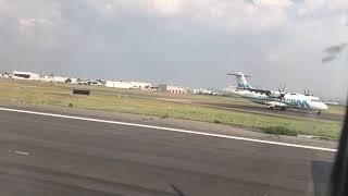 ATR-72-600 de Aeromar despegando del aeropuerto de la ciudad de mexico por la 5L