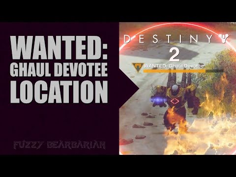 DESTINY 2 - WANTED: Ghaul Devotee Location