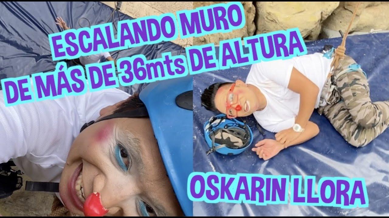 ESCALANDO MURO DE MÁS DE 36 METROS DE ALTURA /OSKARIN LLORA / LOS DESTRAMPADOS
