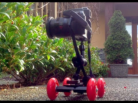 DIY Motorized Pico Video Photo Dolly with Canon SX 50 HS