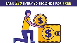 Earn $20 Every 60 Seconds For Free (No Selling Needed) (Worldwide)