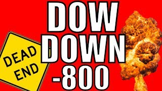 Why The Stock Market Crashed 800 Points Today – The Mysterious Inverted Yield Curve