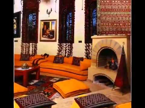 D coration maison marocaine youtube for Decore maison