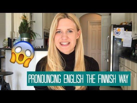 PRONOUNCING ENGLISH THE FINNISH WAY Mp3