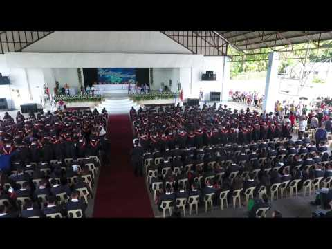 Southern Leyte State University 34th Commencement Rites