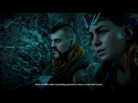 Horizon Zero Dawn Find Marad's Operative Go to Dervahl's Camp