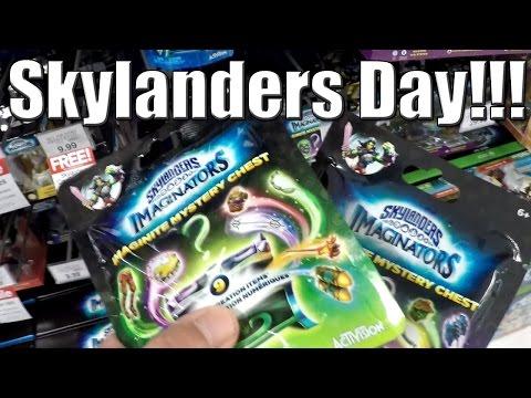 Skylanders Day!!! [Toys R Us]