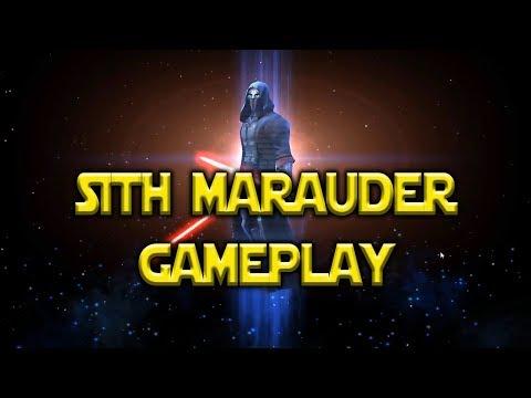 Sith Marauder Gameplay Darth Vader Lead   Star Wars: Galaxy Of Heroes - SWGOH