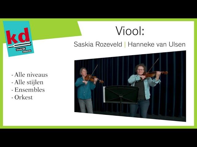 12 juni Digitaal Open Huis Muziekschool Klankrijk Drenthe