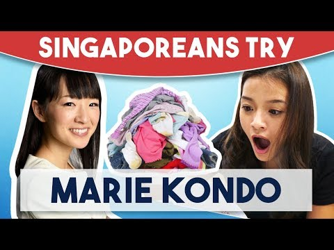 Singaporeans Try: Tidying Up With Marie Kondo