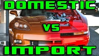 1400HP WAR - Corvette Vs Supra