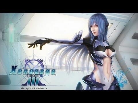 Xenosaga 3 Final Battle + Ending (UNCENSORED) PS3 HD 720p