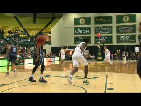 2017-18 William & Mary Men's Basketball Highlights vs. Old Dominion