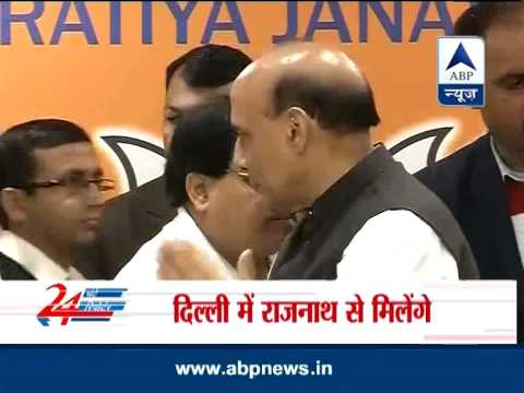 Upset BJP leader Harin Pathak cancels press conference after meeting Rajnath Singh