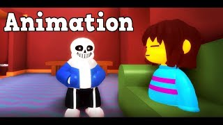 SANS and FRISK Funny Cinematic Undertale Animation Roleplay