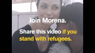 Deadpool Star Morena Baccarin visits Venezuelan refugees in Colombia